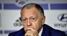 Jean-Michel Aulas is still furious at the Ligue 1 season being ended early. AFP