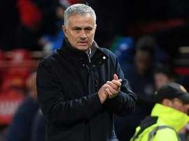 Jose Mourinho Manchester. AFP