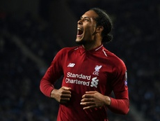 Van Dijk says tie with Barca is not about individual battles. AFP