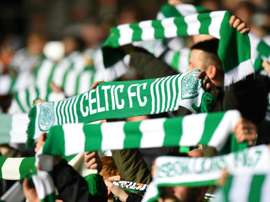 With their win, Celtic were crowned champions of Scotland. AFP
