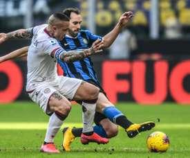 Nainggolan vorrebbe tornare a Milano. AFP