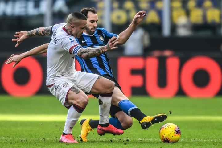 Nainggolan vuole il Cagliari. AFP
