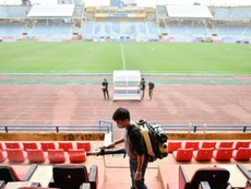 Lessons from China as coronavirus-hit football faces difficult return. AFP