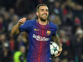 Alcacer is one of those tipped to be sold this summer. AFP