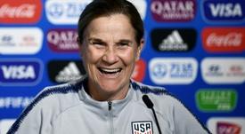 Candidatos al 'The Best' como mejor técnico en el fútbol femenino. AFP