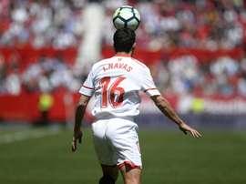 Sevilla completed a second half comeback. AFP