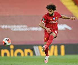 Mohammed Salah got on the scoresheet in Liverpool's convincing 4-0 win over Palace. AFP