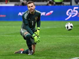 Akinfeev will be a formidable presence between the sticks at the World Cup. AFP