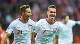 Polonia ganó a Macedonia y se clasificó para la Eurocopa 2020. AFP