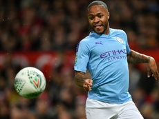 A City fan has been banned from football grounds for racially abusing Raheem Sterling. AFP