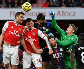 Arsenal held by Palace as Emery's problems increase. AFP