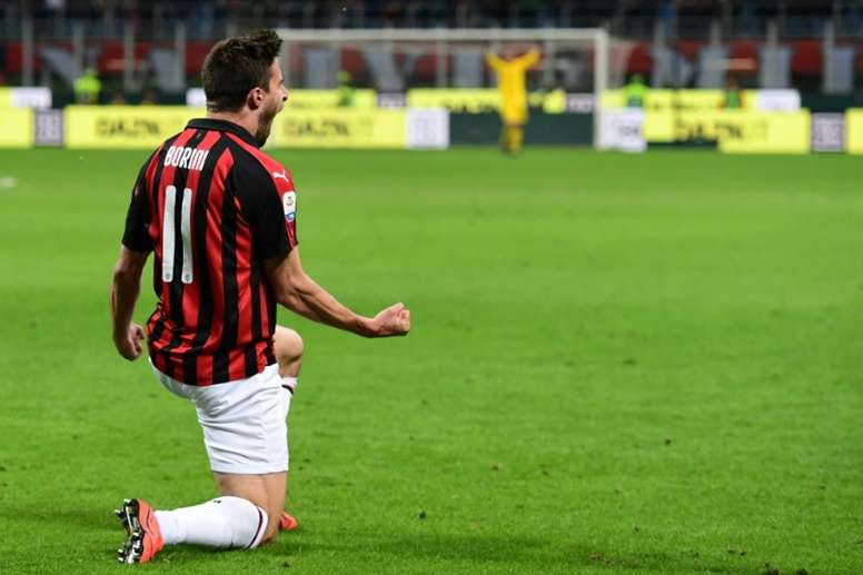 Italy's Borini leaves AC Milan for Verona. AFP