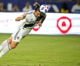 Ibrahimovic descartó su vuelta a Europa. AFP