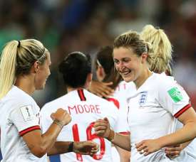England secured a huge 2-0 win over Japan on Wednesday night. AFP