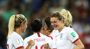 England secured a huge 2-0 win over Japan on Wednesday night. AFP