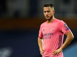 Hazard coûte 2,5 millions d'euros par match au Real. AFP
