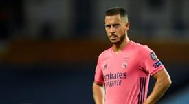 Mijatovic évoque la blessure d'Eden Hazard. AFP
