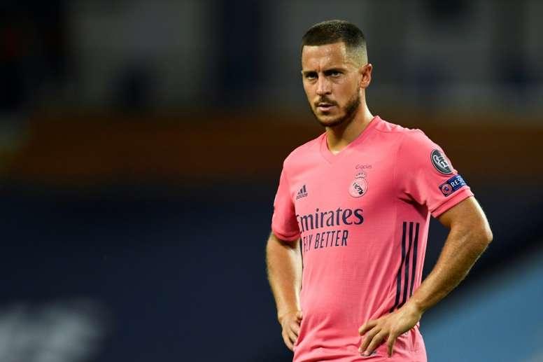Eden Hazard's Real Madrid return has been delayed further. AFP