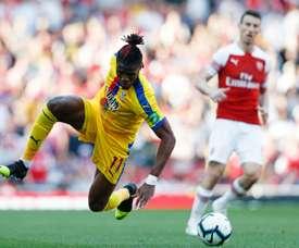 Crystal Palace recale la première offre d'Arsenal pour Zaha. AFP