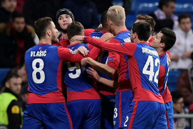 Chalov's opener set CSKA on course for victory. AFP