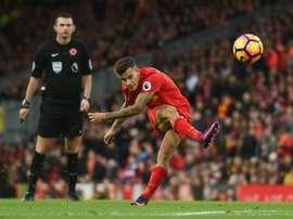 Médio ofensivo de 24 anos leva sete golos marcados, esta época, na Liga Inglesa. AFP