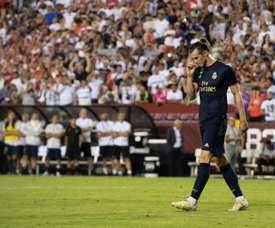 Opção China foi travada pelo Real Madrid. AFP