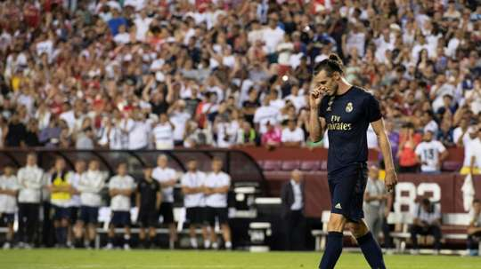 Besieged Bale scores as Real Madrid rally for friendly win over Arsenal. AFP