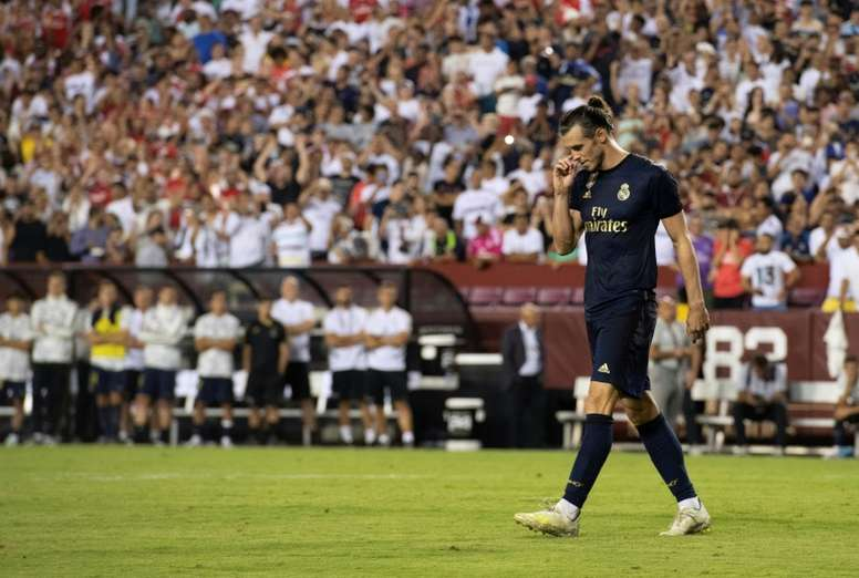 Bale's entourage are worried about his uncertain future in Madrid. AFP