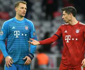 Manuel Neuer and Lwandowski have asked for signings for Bayern. AFP