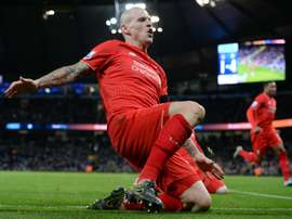 Liverpools Martin Skrtel, pictured on November 21, 2015, limped off in the first half of Liverpools 3-0 defeat at Watford and scans have revealed the Slovakia centre-back has a torn hamstring that will keep him out until February