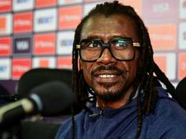 Aliou Cisse has led Senegal to the Africa Cup of Nations final as both captain and coach. AFP