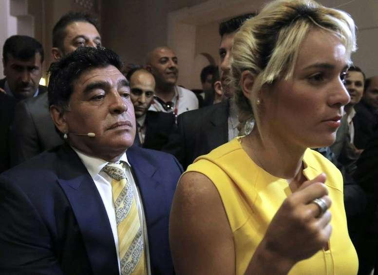 Maradona Girlfriend Says Wedding Bells Planned No Date Set