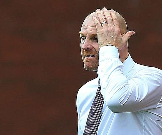 Sean Dyche's Burnley have appealed for unpaid volunteers to help stewards. AFP