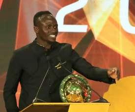 Sadio Mané, eleito o melhor jogador africano do ano. AFP