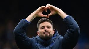 Virage à 360 pour l'avenir de Giroud à Chelsea. AFP