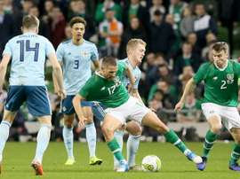 Northern and the Republic of Ireland drew 0-0 in Dublin.