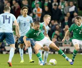 Ireland will try to win away from home. AFP
