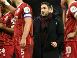 Bristol City, managed by Lee Johnson, reached the League Cup semi-finals in 2017-18. AFP