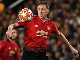 Matic is ahppy some of the Man U youngsters are getting game time. AFP