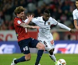 Xeka restera avec les Dijonnais en 2018. AFP