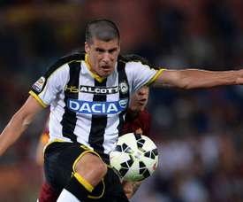 Perica disputó 13 partidos la pasada temporada, anotando tres tantos. AFP