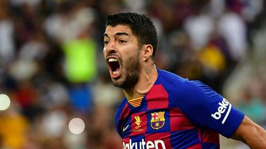 Suarez 'hurt' by criticism of Barca players' pay cut delay. AFP