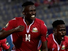 Olunga's goals carried Kenya to a crucial win over Tanzania. AFP