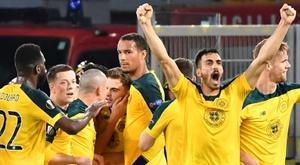 Celtic conquistou seu nono título nacional seguido. AFP