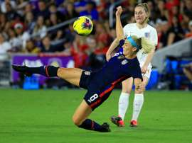 Press, Lloyd on target as USA sink England in SheBelieves Cup. AFP