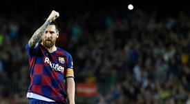 Messi habló del Barça, de Cristiano, de Neymar... AFP