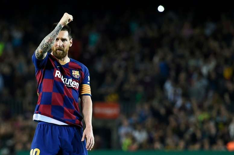 Messi's tax problems had him thinking about a move. AFP