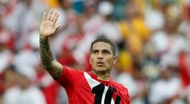 Paolo Guerrero podrá jugar hasta nueva orden con Flamengo. AFP/Archivo