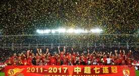 The CSL will see a salary cap introduced next season. AFP