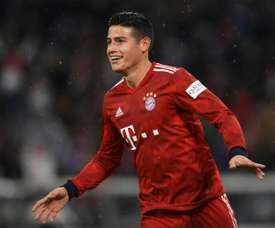 James Rodriguez has seen a recent upturn in form. AFP